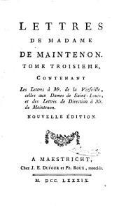 Memoires et lettres de Madame de Maintenon: Volumes9à10