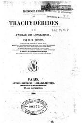 Monographie des Trachyderides de la famille des Longicornes