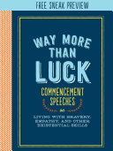 Way More Than Luck (Sneak Preview)