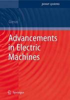 Advancements in Electric Machines PDF