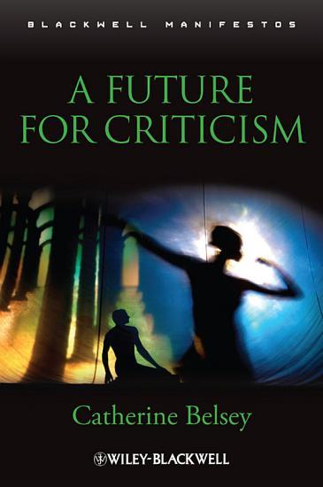 A Future for Criticism PDF