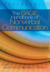 The Sage Handbook Of Nonverbal Communication Book PDF