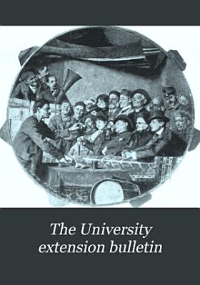 The University Extension Bulletin PDF