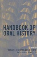 Handbook of Oral History PDF