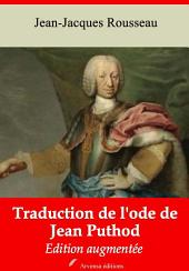 Traduction de l'ode de Jean Puthod: Nouvelle édition augmentée