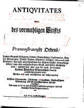Antiquitates Poeldenses: oder Historische Beschreibung vormaligen Stiffts Poelde Praemonstratenser Ordens