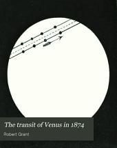 The transit of Venus in 1874