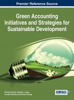 Green Accounting Initiatives and Strategies for Sustainable Development PDF