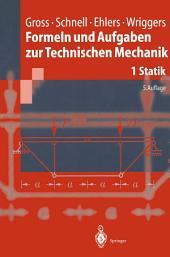 Formeln und Aufgaben zur Technischen Mechanik: Statik, Ausgabe 5