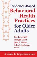 Evidence Based Behavioral Health Practices for Older Adults PDF