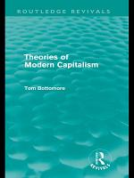 Theories of Modern Capitalism  Routledge Revivals  PDF
