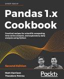 Pandas 1  X Cookbook PDF