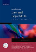 Introduction to Law and Legal Skills in South Africa PDF