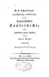 G.C. Lichtenberg's ausführliche Erklärung der Hogarthischen Kupferstiche: mit verkleinerten Copien derselben
