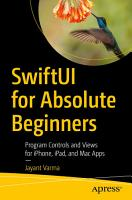 SwiftUI for Absolute Beginners PDF