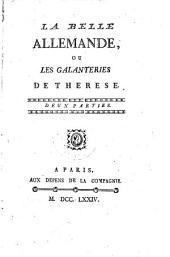 La belle Allemande, ou, Les galanteries de Thérèse