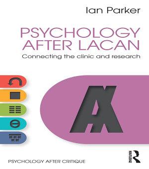 Psychology After Lacan PDF