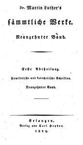 Sämmtliche Werke: Homiletische und katechetische Schriften: Vermischte Predigten : vierter Band, Band 19