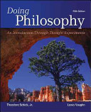 Doing Philosophy  An Introduction Through Thought Experiments PDF