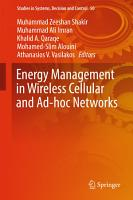 Energy Management in Wireless Cellular and Ad hoc Networks PDF