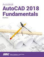 Autodesk AutoCAD 2018 Fundamentals PDF