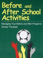 Before and After School Activities PDF
