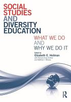 Social Studies and Diversity Education PDF