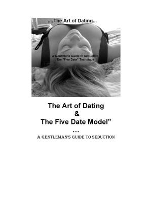 The Art of Dating  A Gentleman s Guide to Seduction PDF