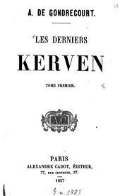 Les derniers Kerven: Volume1