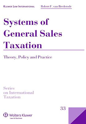 Systems of General Sales Taxation PDF