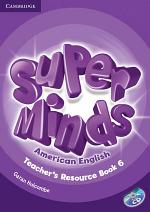 Super Minds American English Level 6 Teacher's Resource Book with Audio CD