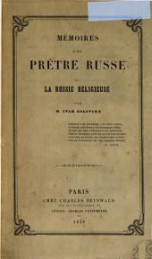 Mémoires d'un prêtre russe