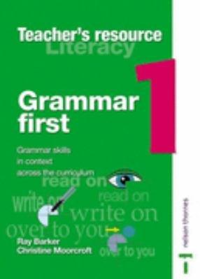Grammar First PDF