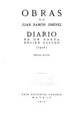 Diario de un poeta recién casado (1916): Volumen 3