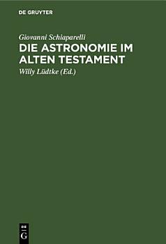 Die Astronomie im Alten Testament PDF