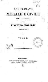 Del primato morale e civile degli italiani: Volume 2