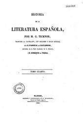 Historia de la literatura Espanola