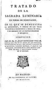Tratado de la sagrada luminaria en forma de disertación