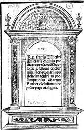 In presumptuosas Martini Luther conclusiones de potestate pape dialogus