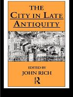 The City in Late Antiquity PDF