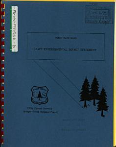Bridger Teton National Forest  N F    Union Pass Rd PDF