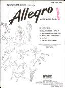 The Theatre Guild Presents Allegro