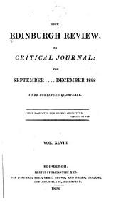 The Edinburgh Review: Volume 14; Volume 48