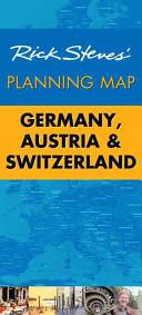Rick Steves' Planning Map Germany, Austria & Switzerland