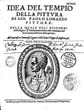 Idea del tempio della pittura di Gio. Paolo Lomazzo pittore... (Versi italiani e latini da S. Folianus, B. Baldini, G. Comanini, V. Marini)