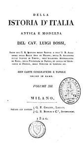 Della istoria d'Italia antica e moderna: Volume 12