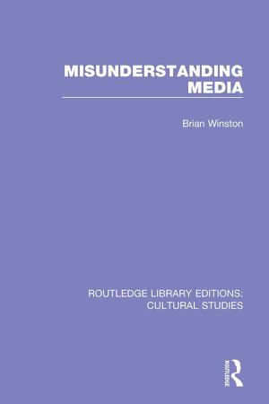 Misunderstanding Media PDF