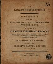 De legato praeceptionis