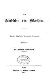 Die Jahrbücher von Hildesheim