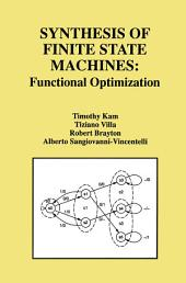 Synthesis of Finite State Machines: Functional Optimization